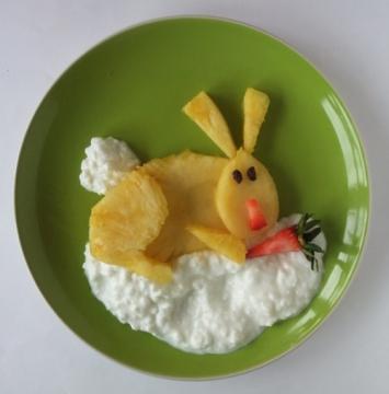Завтрак для детей.
