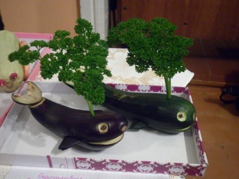 Поделки на ярмарку из фруктов и овощей картинки